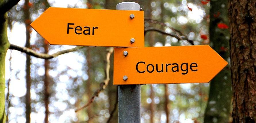 Als Mut und Angst sich die Hand gaben