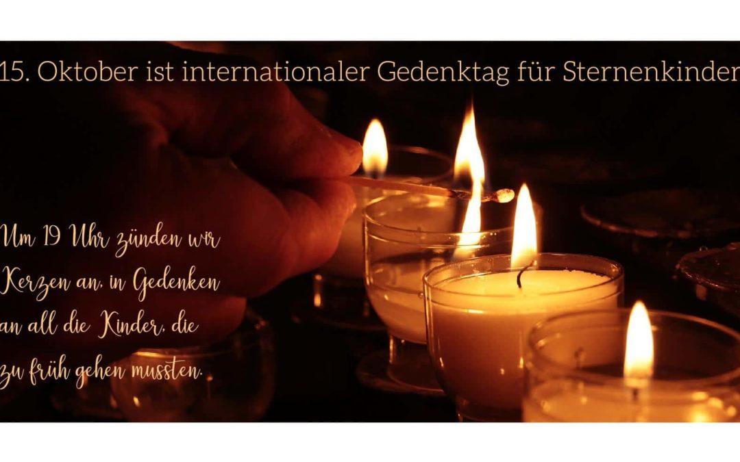15. Oktober ist Internationaler Gedenktag für Sternenkinder