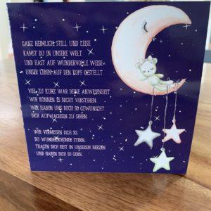 Trauerkarte nach Kindsverlust