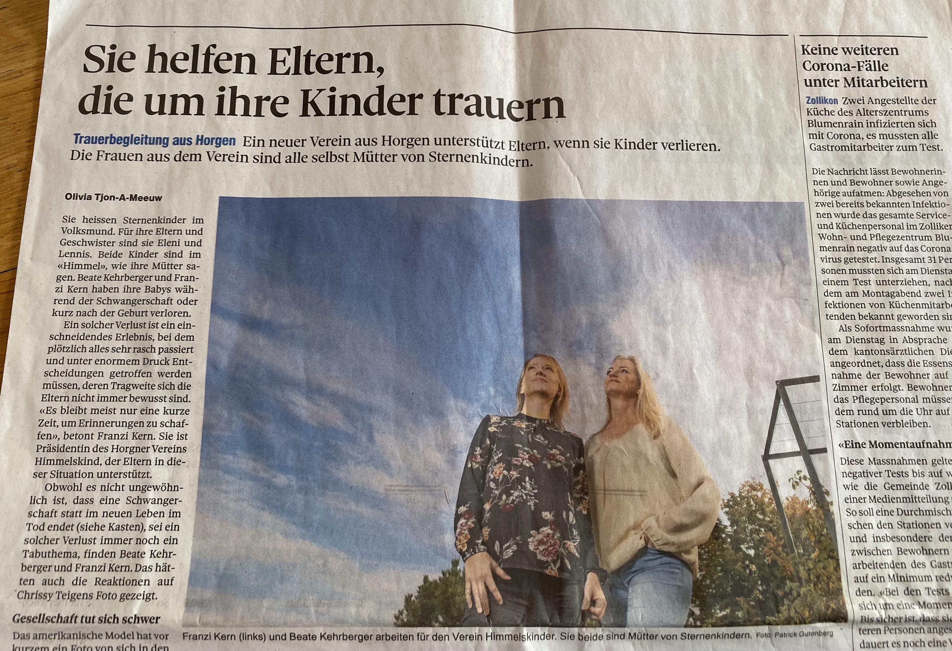 Franziska Kern Zürisee Zeitung